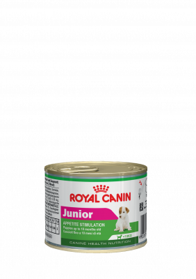 Корм для щенков Royal canin junior 195 г мусс